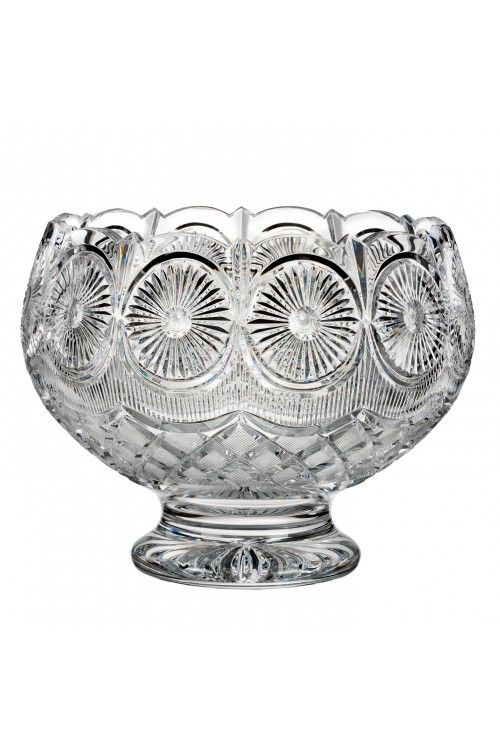 House of Waterford Crystal Designer Studio Beauty Of Southeast Ireland Billy Briggs, Tramore Footed Centerpiece, Limited Edition of 400 at WWRD, Tanger Outlets, San Marcos, TX or call 1-800-203-4540 or 512-396-4025.  We ship.