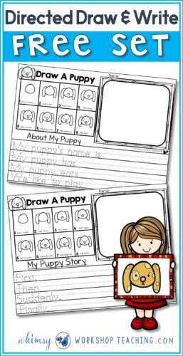 This big pack of free activities features a directed drawing lesson and several differentiated writing templates to use with the drawings!