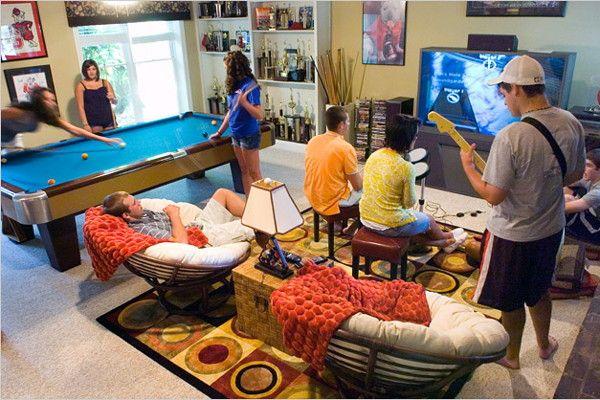 Best Party Basements For Teens Photo Gallery - Kudzu.com