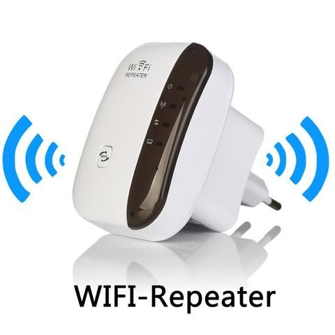 Wireless WiFi Repeater Signal Amplifier 802.11N/B/G Wi-fi Range Extander 300Mbps…