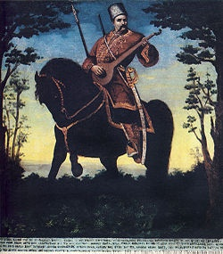Cossack Mamay – the ideal image of Cossack in Ukrainian folklore.