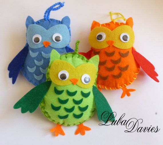 Instant Download Owl bean bag sewing pattern. Kids craft. Size 12cm. Owl toy, christmas decoration. Owl template, chart.