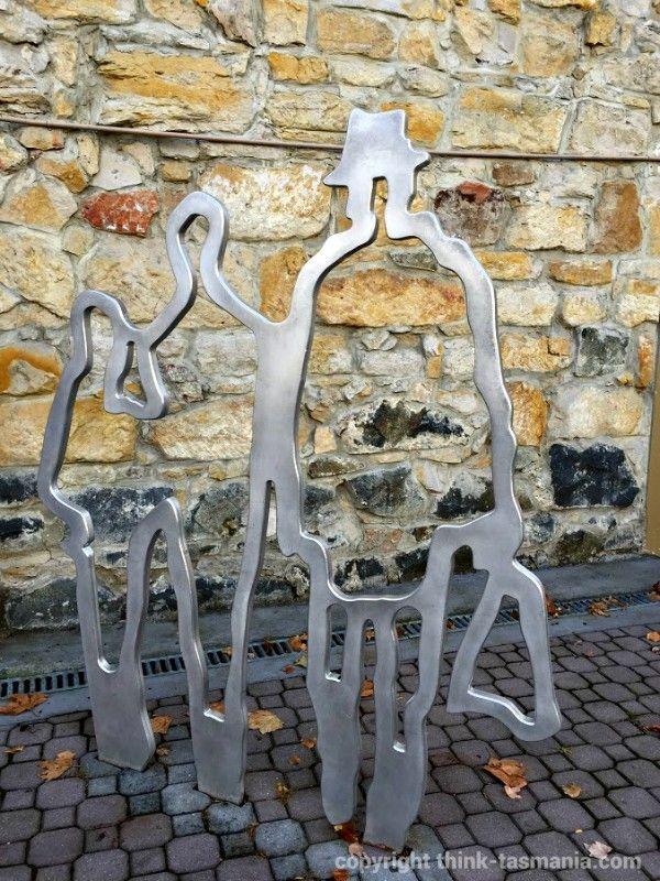 Classic Urban Parks: Hobart Sculptures Photo and article for think-tasmania.com #Hobart #Tasmania #Art #Sculpture #Walking