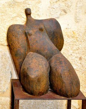 "Saatchi Online Artist Cristelle Berberian; Sculpture, ""Bateau Ivre  / Drunk Boat"" #art"