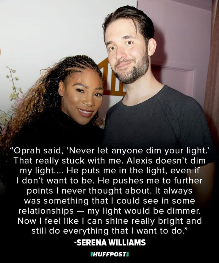 "HuffPost on Instagram: ""Serena Williams and her husband, Reddit co-founder Alexis Ohanian, are the definition of couple goals.  But prior to meeting…"