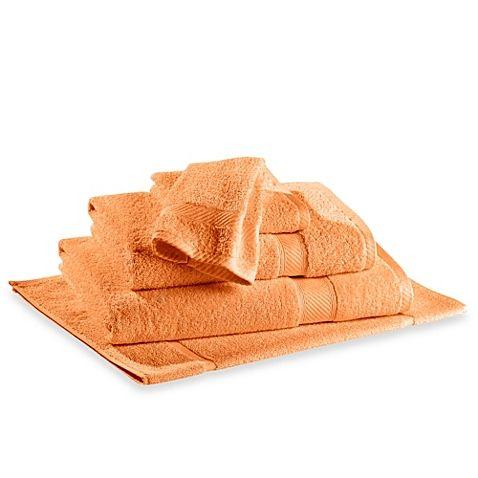 Orange Bath Towel and hand towels