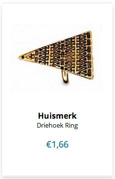 Driehoek Ring www.ovstore.nl/nl/meer-categorieen/sieraden