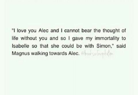 City of heavenly fire Tmi The mortal instruments Malec Sizzy Cohf .....I can't tell if this is real or not... Oh my word. If it is... I can't.. I just... I... It broke me.