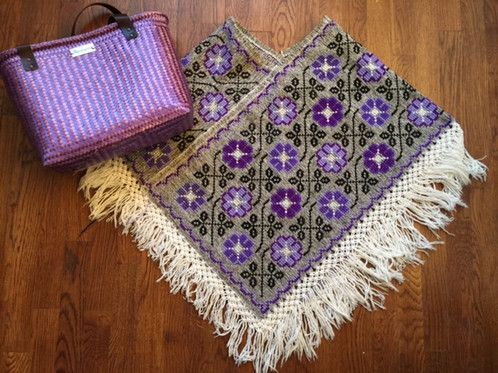 Vintage Mexican Poncho $55.00 USD Free shipping US