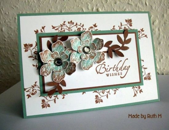 Cocoa and Sage Vintage Vogue Birthday Wishes