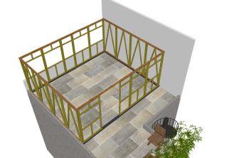 Ampliación en azotea | bambuterra #proyectos #projects #bamboo #bambú #arquitectura #architecture #sustentable #sustainable #México #Bambuterra