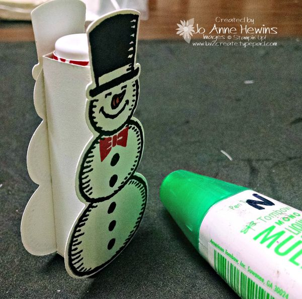 Recently I went to a meeting with other Stampin' Up! Demonstrators. I participated in a 3D swap. One of the swaps that I got was this cute lip balm holder using the Snow Place stamp set and the Snow Friends Framelits Dies. Did you know that you can purchase these...