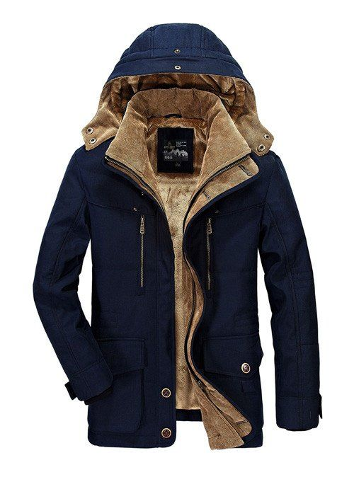 High Quality Winter Jacket Men Brand 2016 Warm Thicken Coat Famous Cotton-Padded Fashion Parkas Elegant Business Plus Size 4XL - Xamns http://www.99wtf.net/men/mens-fasion/latest-mens-casual-trouser-trend-2016/