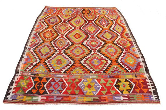turkish rug retro home decor cottage style dining room art