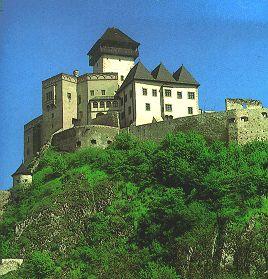 Celkový pohled na jádro hradu