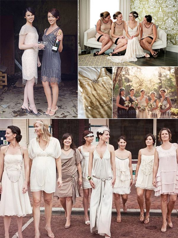 Unique Vintage Bridesmaid Dresses For Wedding Season 2017