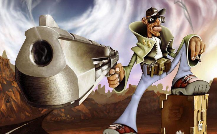 Gangsta HD Wallpaper