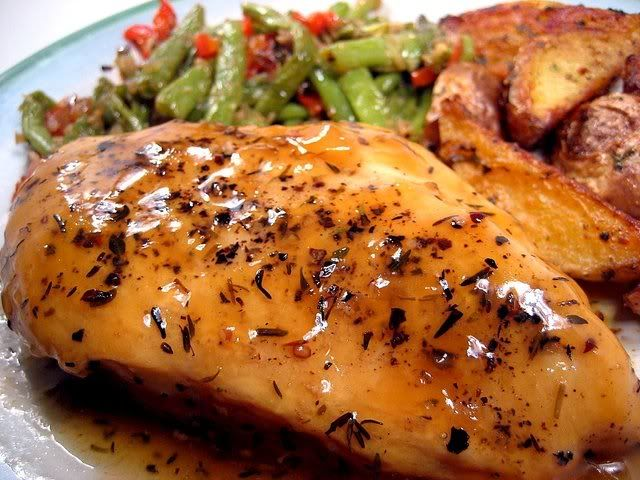 Honey beer glazed chicken - low oxalate diet