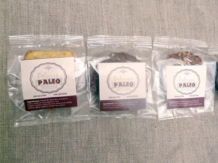 Pastelito de Coco y Arándano, Galleta de Doble Chocolate y  Galleta de Manzana y Canela, ¡listos!