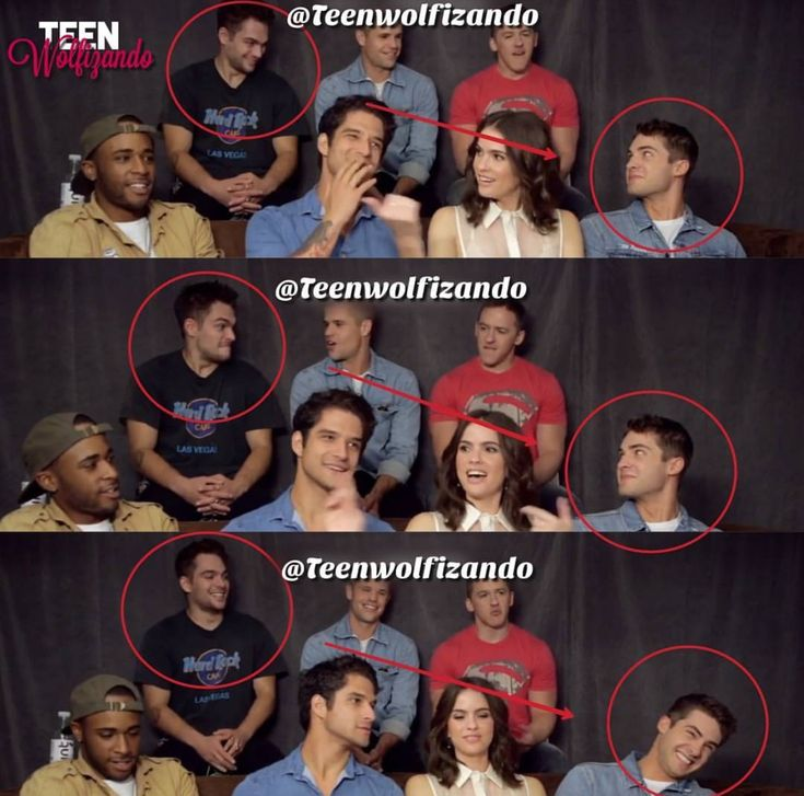 Notice how he looked at Theo first then at Ethan nd they all started laughing