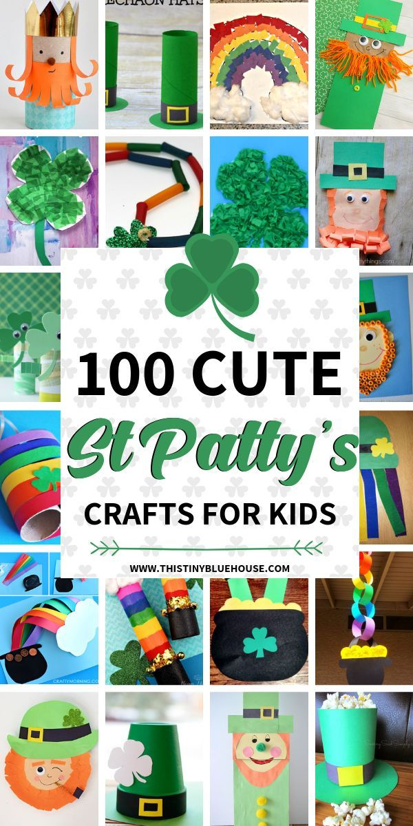 100 St Patrick's Day Crafts For Kids