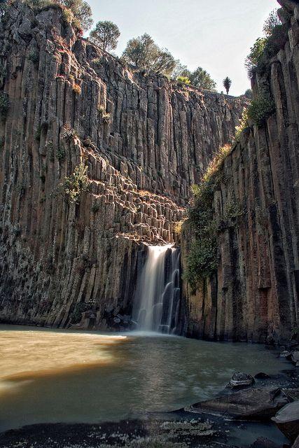 Prismas Basalticos..hidalgo mexico