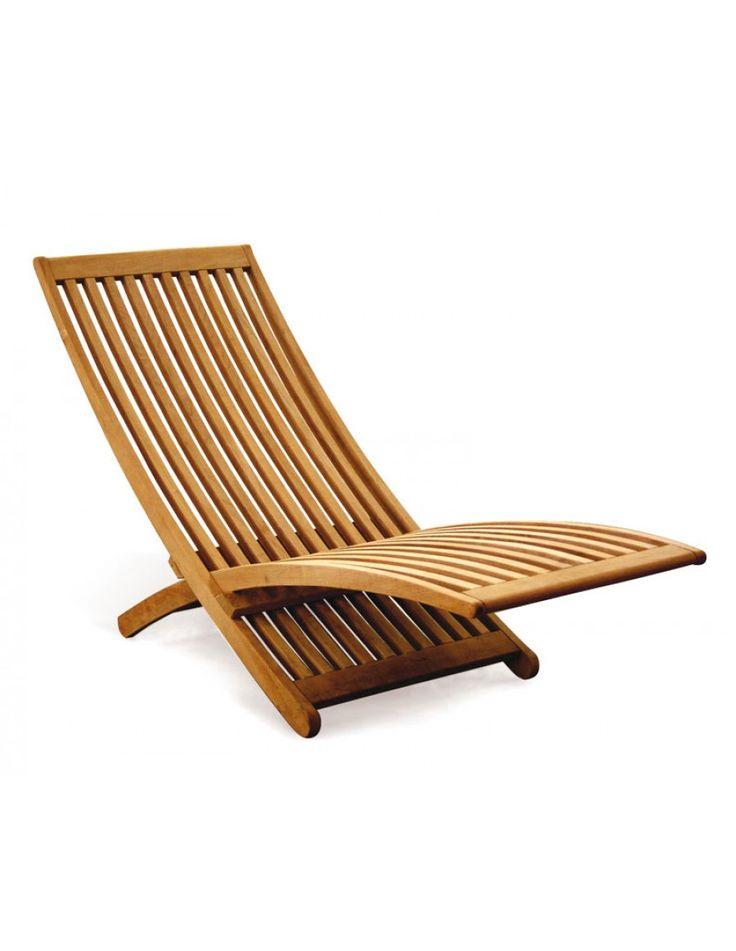 chelsea modern teak lounger all sun loungers