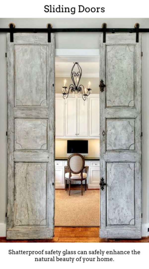 Sliding Doors Cultivate Eye Catching Light Room Designs Thanks To Thermally Insulated Sliding And With Images Rustic Doors Interior Sliding Barn Doors Barn Doors Sliding