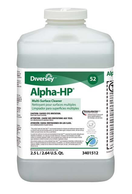 Multi-Surface Cleaner Alpha-HP: Carpet Care with Accelerated Hydrogen Peroxide