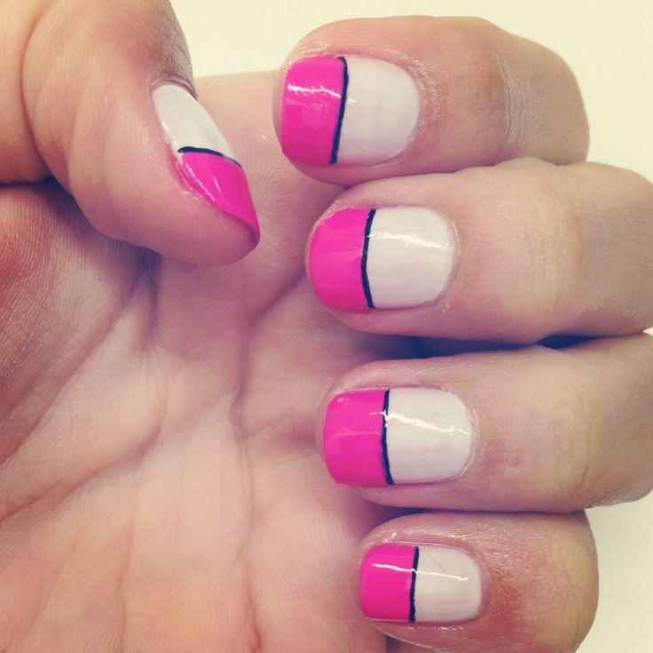 Mis uñas la semana pasada :)
