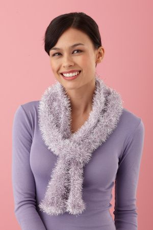 Loom Knit Sparkle Scarf - can't wait to try out my new knitting loom I got for christmas!
