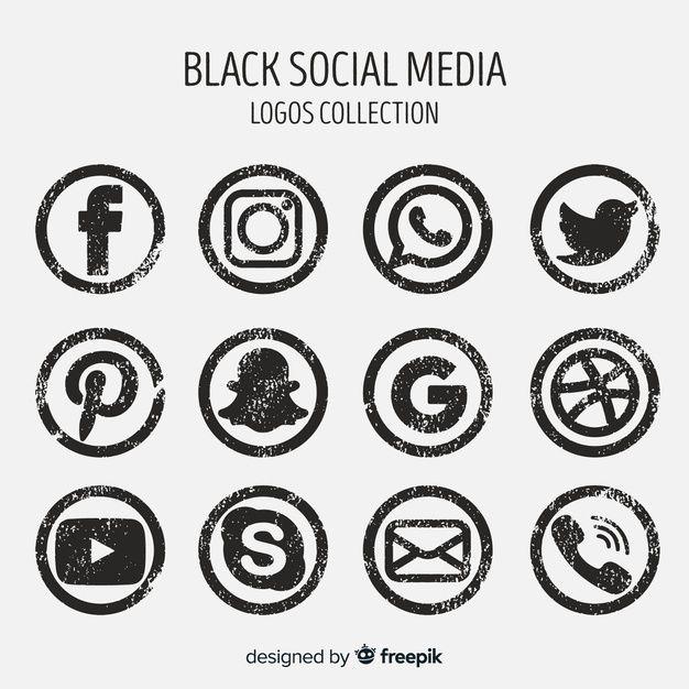 Baixe Coleção De Logotipo De Mídia Social gratuitamente in