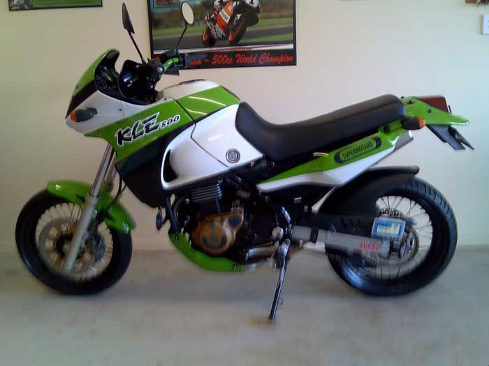 Image result for kle 500 cross