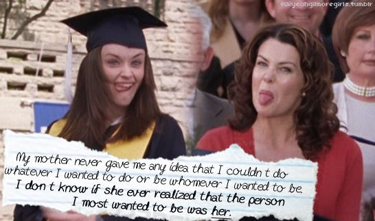 My mom and I will probably do this at ,y graduation.. Too much Netflix...too much