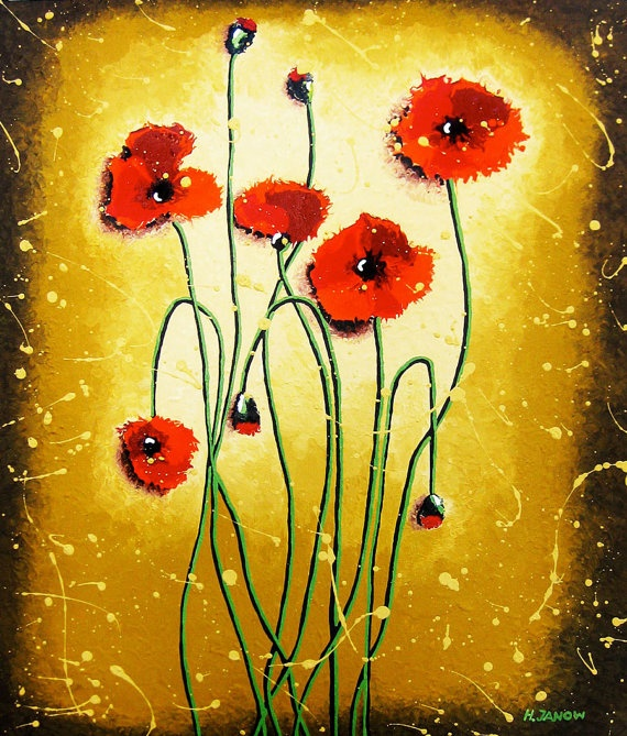 118 best Poppies images on Pinterest | Fabric flowers, Poppies and ...