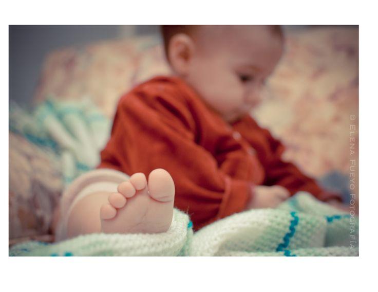 mantita de bebe hecha en telar artesanal