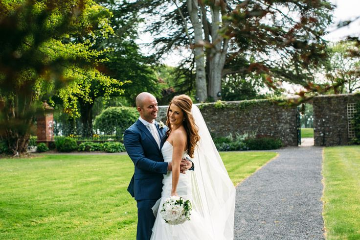 Bride and Groom at Tankardstown House Wedding