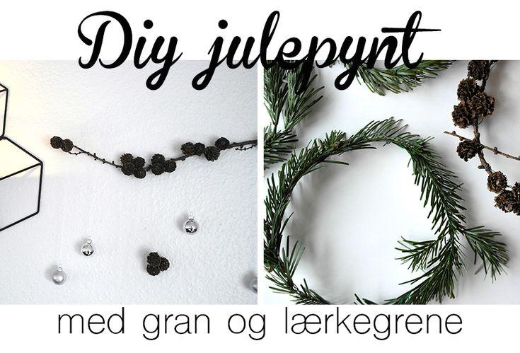 Inspiration til nordisk julepynt du selv kan lave.