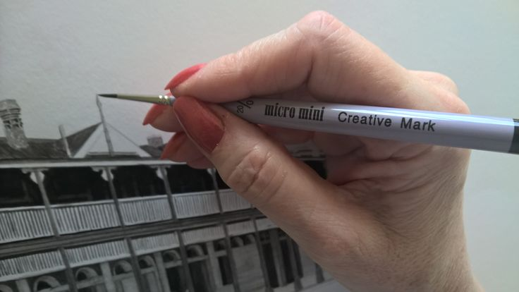 Micro Mini Brushes by Creative mark and available from Steadfast61