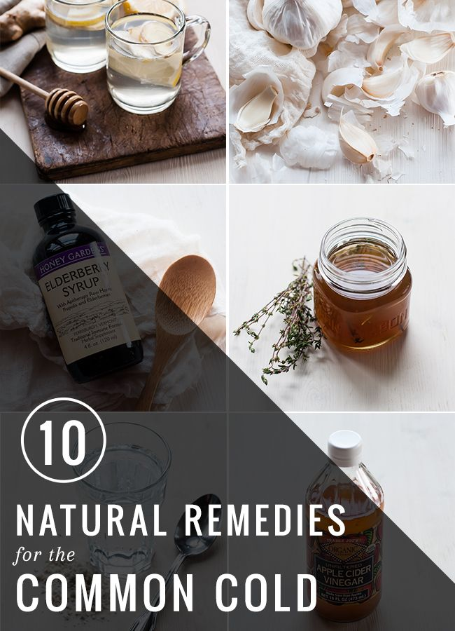10 Natural Remedies for the Common Cold | HelloNatural.co