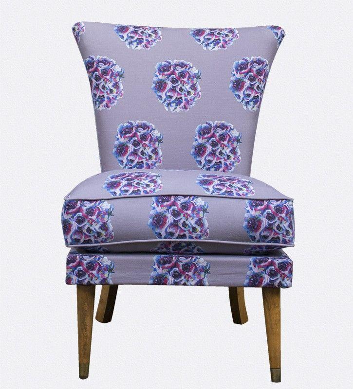 Bedroom Chair - English Garden Cocktail Chair - OccipintiOccipinti