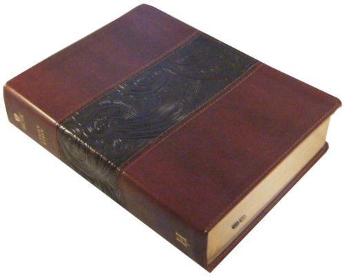 Holman KJV Study Bible Personal Size Review Black/Tan ...