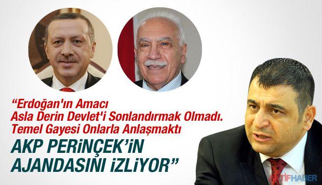 Sedat Laçiner: AKP Perinçek'in Ajandasını Takip Ediyor