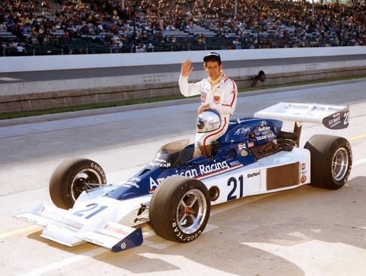 Al Unser Parnelli VPJ6B Indycar 1976 Indy 500 Pinterest