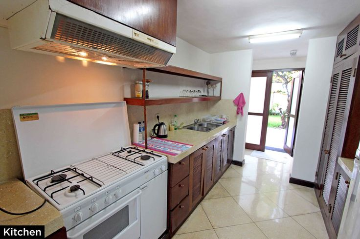 Kitchen • PRIVATE POOL VILLA ON SANUR, BALI • FOR SALE • 800m2 land area • 2 Bedroom villa with private pool • Gated estate with expatriate villas • 24 hours security • 500 metres from bypass Sanur • 25 years leasehold • For Enquiries: (+62) 0819 9941 1123 • Email: info@villakambojasanur.com
