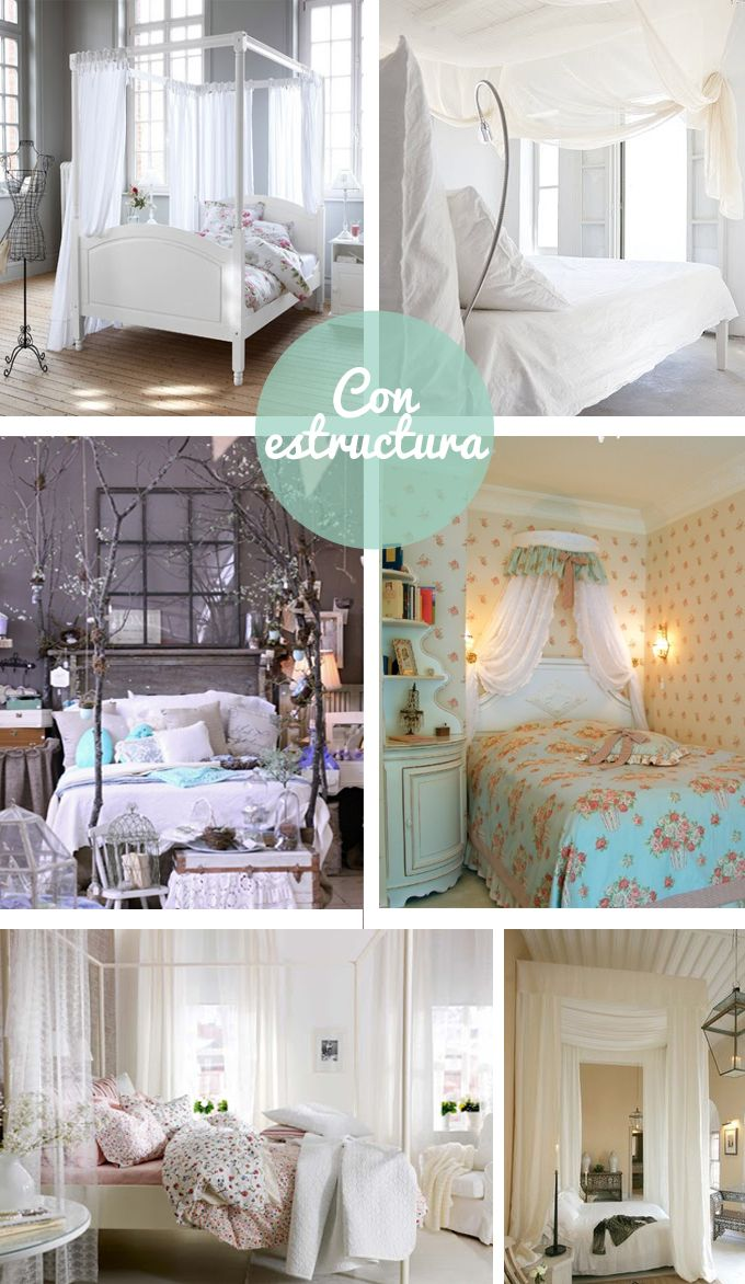 17 mejores ideas sobre estructura de la cama en pinterest - Dosel cama nina ...