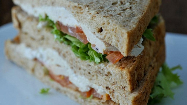 Copycat of Arby's Chicken Salad Sandwich