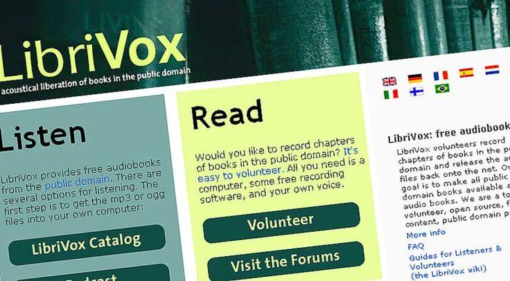 GRATIS LYDBØKER: Det amerikanske nettstedet LibriVox tilbyr gratis nedlastning av lydbøker, helt lovlig.