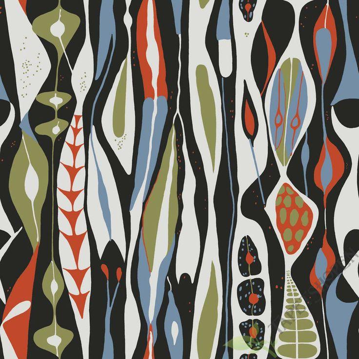 WALLPAPERS BY SCANDINAVIAN DESIGNERS - Wallpapers by Scandinavian designers är en unik kollektion dä