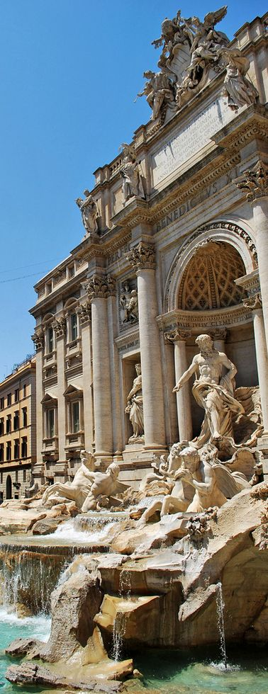 Fontana de Trevi, Roma Italia